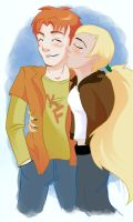 Artemis and Wally by FabulousBendingBros
