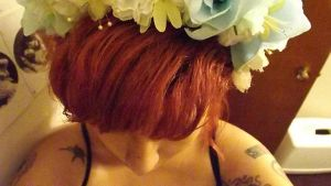 Flower Crown/Halo by lovechairmanmeow