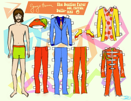 GEORGE HARRISON PAPER DOLL 2 by 89000007ANL