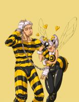 Q-bee x Cody by ziconviene