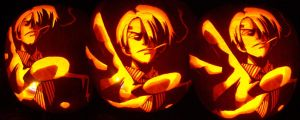 Sanji Pumpkin Carving by Rider4Z
