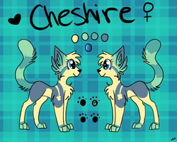 Cheshire ref by clownbard