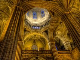 Barcelona Cathedral 2 by MisterKrababbel