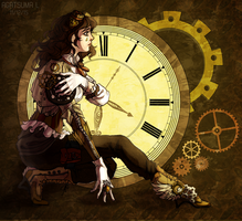Steampunk!Miranda by H8ARO