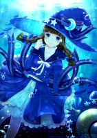 Blue Sea Witch by ichigomeichan