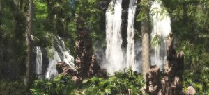 the waterfalls by Massi-San
