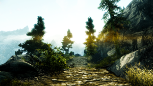 Screeenshot: TES5 Skyrim: On the Way to Ivarstead by bakaprincess85