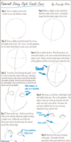 Tutorial: Disney Female Faces by jacquelynfisher