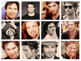 12 icons ian and robert. by MyloveRobsten