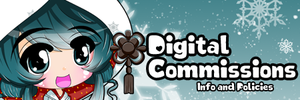 Digital Commissions - Info and Policies by Paprika-Studios