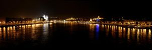 Danube + Budapest by cLuddy