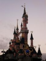Disneyland Paris Castle by MauiMelle