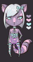 CLOSED Sugar Stripes Adopt {A} by SophieSuffocate