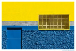 Lines, Yellow and Blue by luiscds
