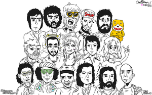 ED BANGER - COOL CATS CREW by nidayeah