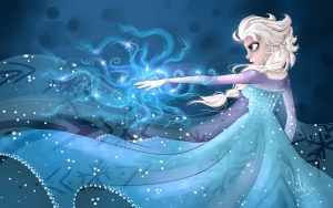 frozen (Elsa) by atachi00