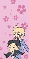 Ouran Piggyback by TipsyKipsy