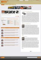 News site design by treconor