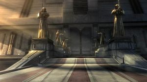 the temple entrance by Warmaster367