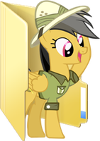 Custom Daring Do folder icon by Blues27Xx