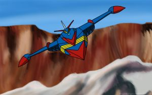 Battle Of The Planets - Phoenix by KnightRanger