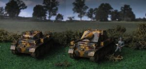 Luchs Prototype Field Testing by Baryonyx62