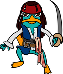 Captain Perry Sparrow by Tella-in-SA