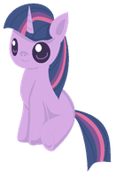 Chibi Twilight Sparkle by Blood-Charm