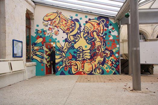 first wall  2014 by vonkrissen