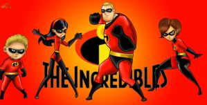 The Incredibles by Lubie-Lu