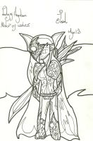 Jewel War Picture: Uncoloured by xxxBrokenSoulxxx