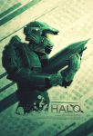 Halo - Master Chief by FabledCreative