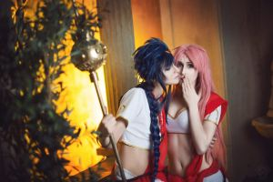 Magi: the Labyrinth of Magic - ShebaxSolomon by lKainl