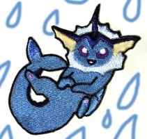 Vaporeon Patch by Hoozuki