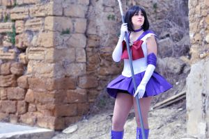 Sailor Saturn, Soldier of Death and Birth by ChiaraTrancy