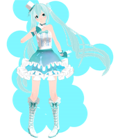 Tda Performer Miku - Download by SapphireRose-chan