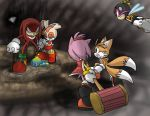 Knuckles - Guardian's madness by Tigerfog