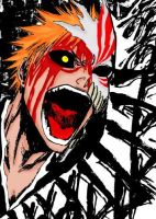 Hollow Ichigo by Darkness-Creator