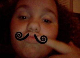aww yeah you liek mah mustache by rhidreams