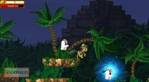 Screenshot from Daring Do the game Remake by alexmakovsky