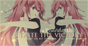 Taste the Victory by dolladollita