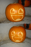 The 'Awesome' Pumpkin by bryce-z