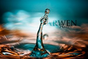 MUSICAL MOMENT DROP by ArwenArts