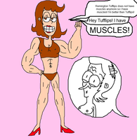 Loana has Muscles by Loana-Lalonde