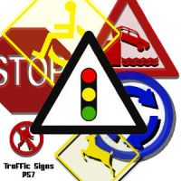 Traffic Signs Brushes by thedp