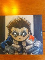Lil Dude Winter Soldier by MARR-PHEOS