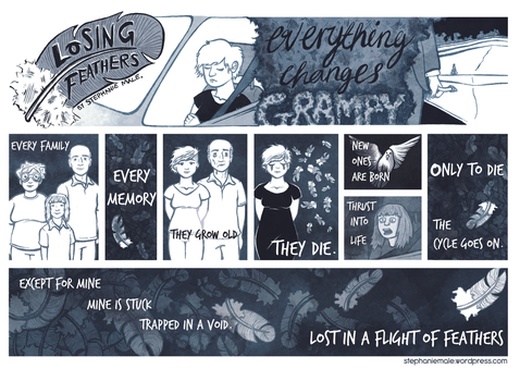 Losing Feathers comic by steph68a