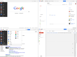 New Google Top Bar Layout by dAKirby309