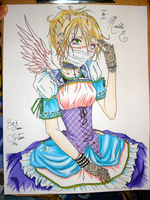 Hatless Madd Hatter by CwissyHarlequin