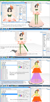 [MMD Tutorial] Fixing Clipping Issues by K-Channnn